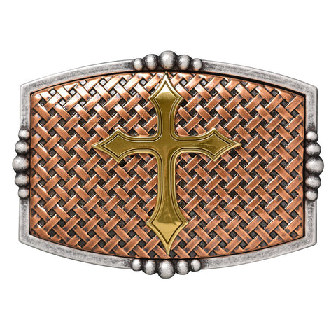 Nocona Mens Cross Buckle