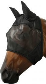 Showman™ fleece lined fly mask with ears.