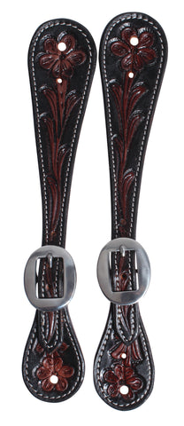 PROFESSIONAL'S CHOICE GUTHRIE ADULT SPUR STRAPS FLORAL COLLECTION