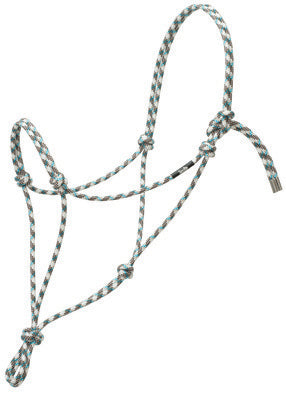 "WEAVER- Silvertip #95 Rope Halter, 5/16"" Average."