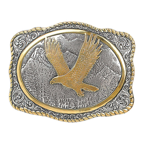 Crumrine Vintage Flying Eagle Buckle