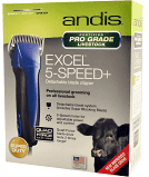 Weaver Livestock- Andis® Excel™ 5-speed+ Clipper , Blue