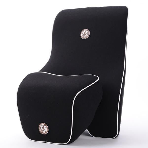 car seat and head rest