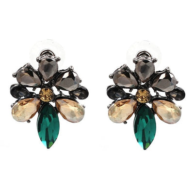 Women Fashion Jewelry Style lovely Earrings Handmade Full Crytal