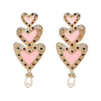 Earring For Women Trendy Simulated Pearl Earrings