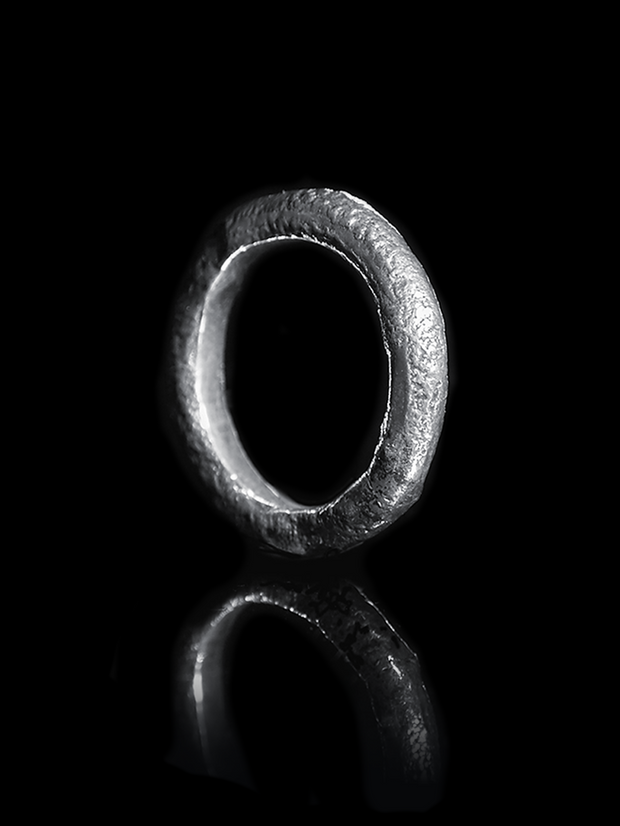 Silver Stacking ring 1