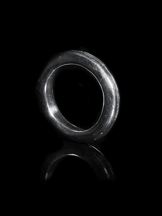Silver Stacking ring 3