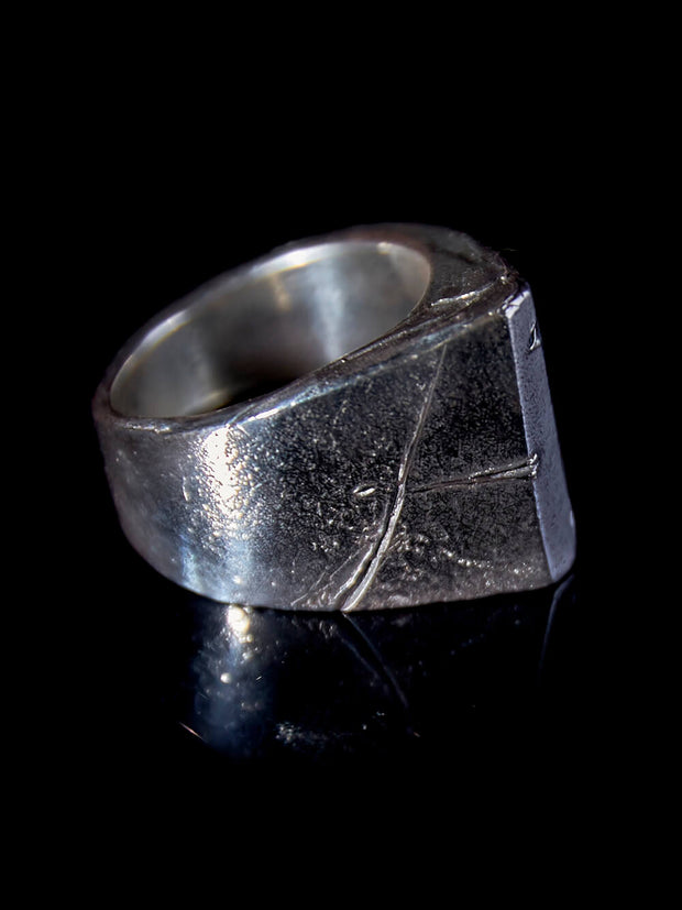 Monolithic Cosmism Silver Ring