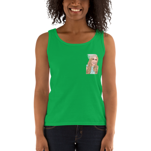 Custom Women's Tank Top (Chest Print)