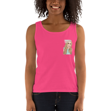 Load image into Gallery viewer, Custom Women's Tank Top (Chest Print)