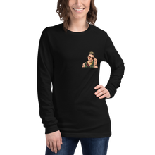 Load image into Gallery viewer, Custom Unisex Long Sleeve Tee (Chest Print)