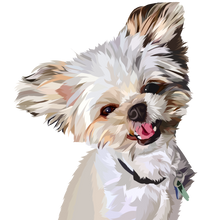 Load image into Gallery viewer, Caricature My Pet (Art Review & File)