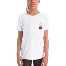 Load image into Gallery viewer, Custom Youth Unisex T-Shirt (Chest Print)