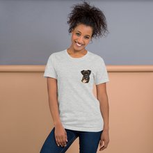 Load image into Gallery viewer, Custom Women's T-Shirt (Chest Print)