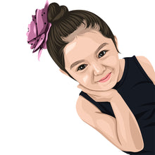 Load image into Gallery viewer, Caricature My Baby (Art Review & File)