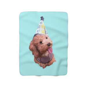 Custom Sherpa Fleece Blanket