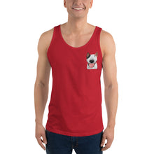 Load image into Gallery viewer, Custom Men's Tank Top (Chest Print)