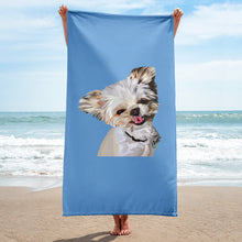 Load image into Gallery viewer, Custom Beach Towel