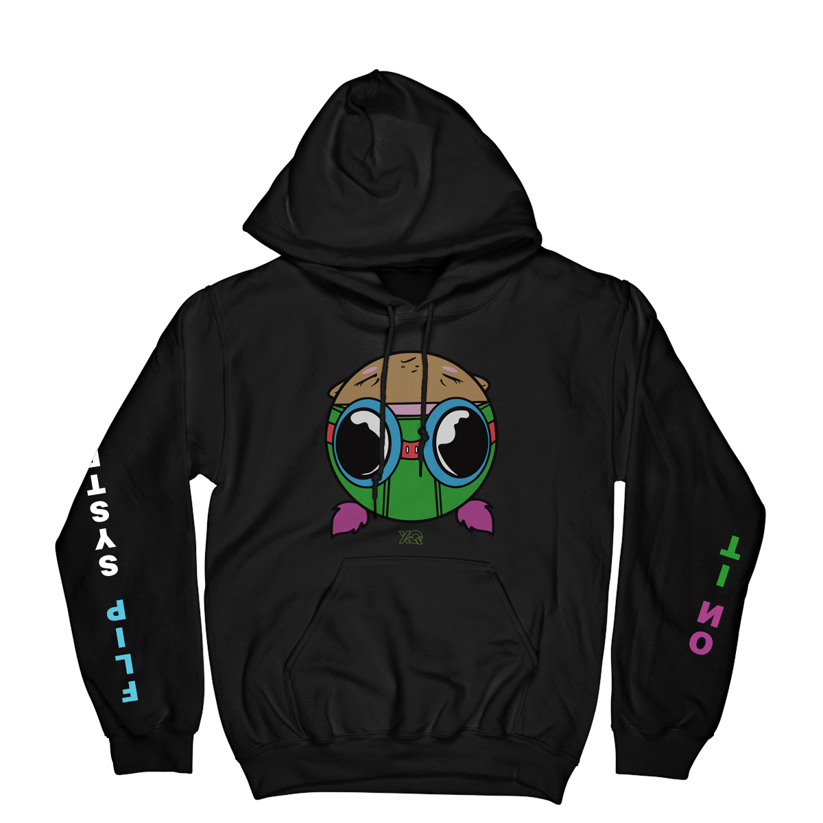 XQ FLIP THE SYSTEM LIL  MAMA HOODY