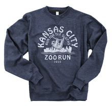 Navy Blue Sloth Crew Neck Sweatshirt