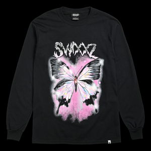 Delicate Wings Long Sleeve Tee