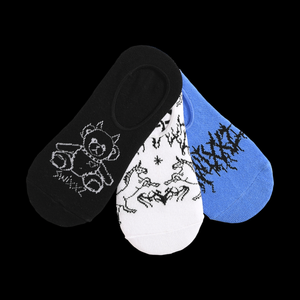 Mythical No Show Socks 3pk