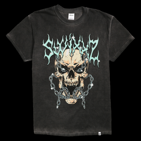 Shackled Skull Short Sleeve Tee