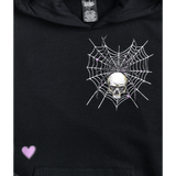 Tangled Skull Black Hoodie from SWIXXZ by Maggie Lindemann
