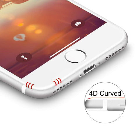 iPhone 4D Displayschutz curved