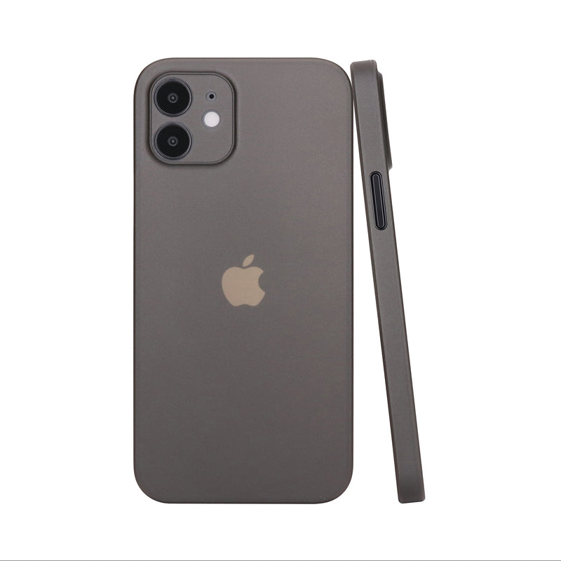 iPhone 12 mini Ultra Slim Case - Simple Gray