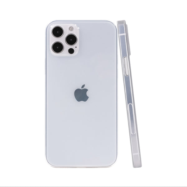 iPhone 12 Pro Max Ultra Slim Case - Piano Transparent