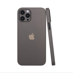 iPhone 12 Pro Max Ultra Slim Case - Simple Gray