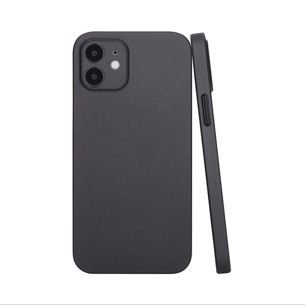 iPhone 12 Ultra Slim Case - Deep Black