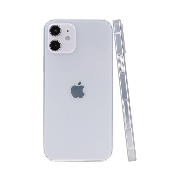iPhone 12 Ultra Slim Case - Piano Transparent