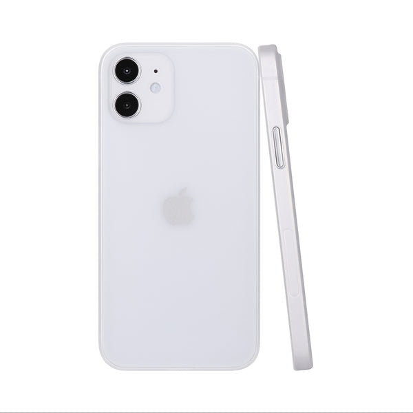 iPhone 12 Ultra Slim Case -  Milky Transparent