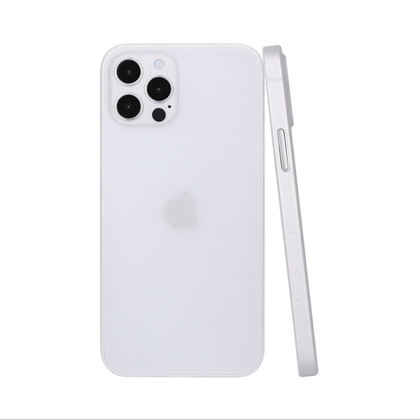 iPhone 12 Pro Max Ultra Slim Case -  Milky Transparent