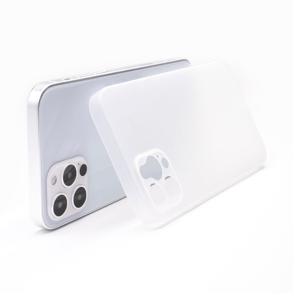 iPhone 12 Pro Ultra Slim Case -  Milky Transparent