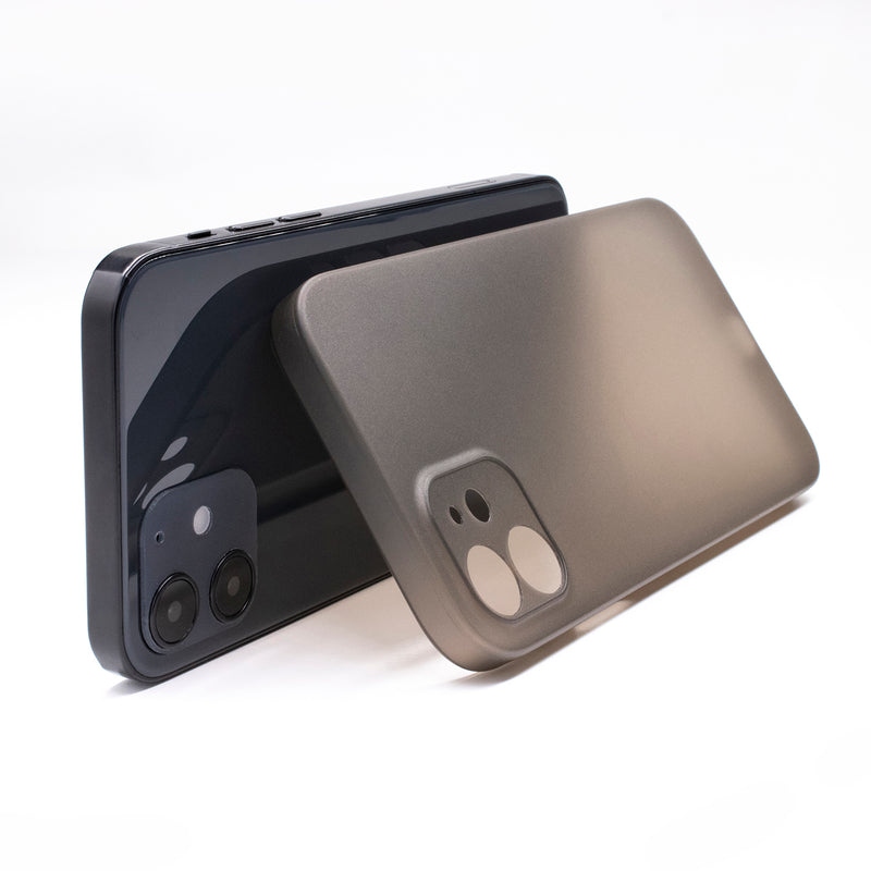 iPhone 12 Ultra Slim Case - Simple Gray