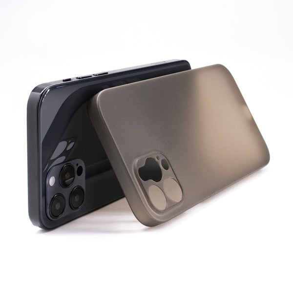 iPhone 12 Pro Ultra Slim Case - Simple Gray