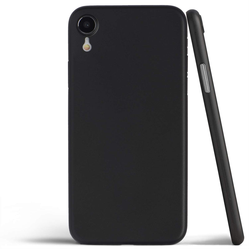 iPhone XR Ultra Slim Case deep black