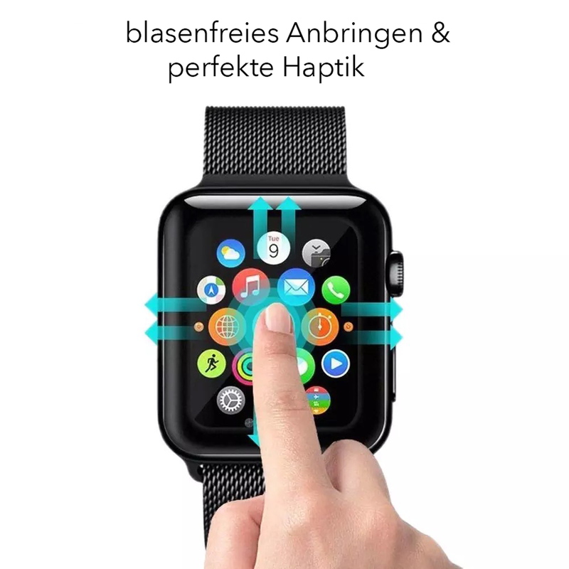 Apple Watch Series 4/5/6/SE Displayschutz vollabdeckend