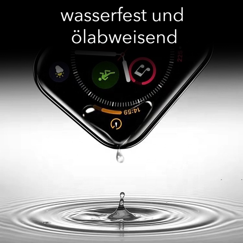 Weltneuheit: Apple Watch Series 4/5 Displayschutz vollabdeckend