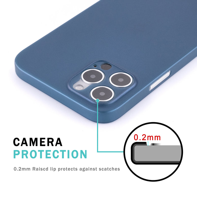 iPhone 12 Pro Max Ultra Slim Case - Pacific Blue