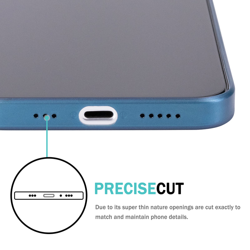 iPhone 12 Pro Ultra Slim Case -  Pacific Blue
