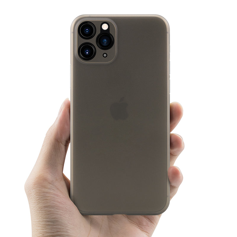 iPhone 11 Pro Max Ultra Slim Case simple gray