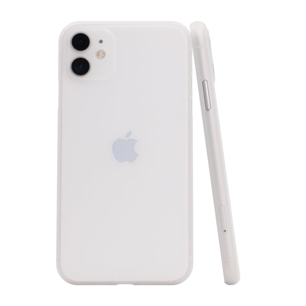 iPhone 11 Ultra Slim Grip Case Frosted White