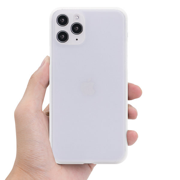 iPhone 11 Pro Ultra Slim Grip Case Frosted White