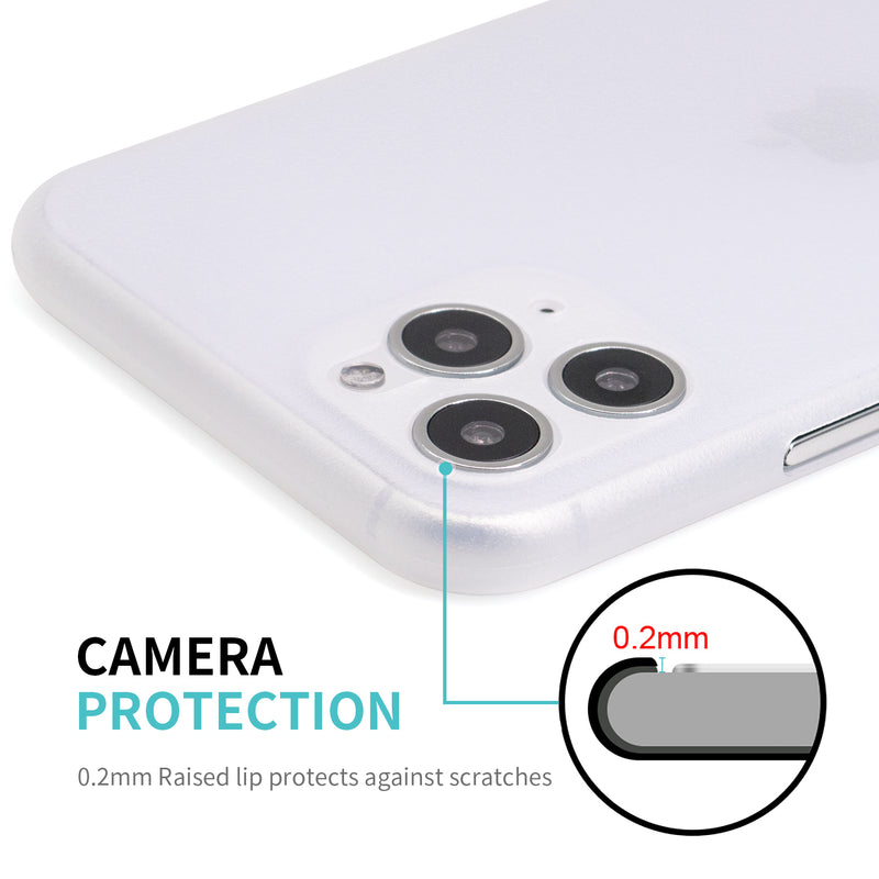Phone 11 Pro Max Ultra Slim Grip Case Frosted White