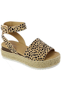 Walk on the Wild Side Sandals