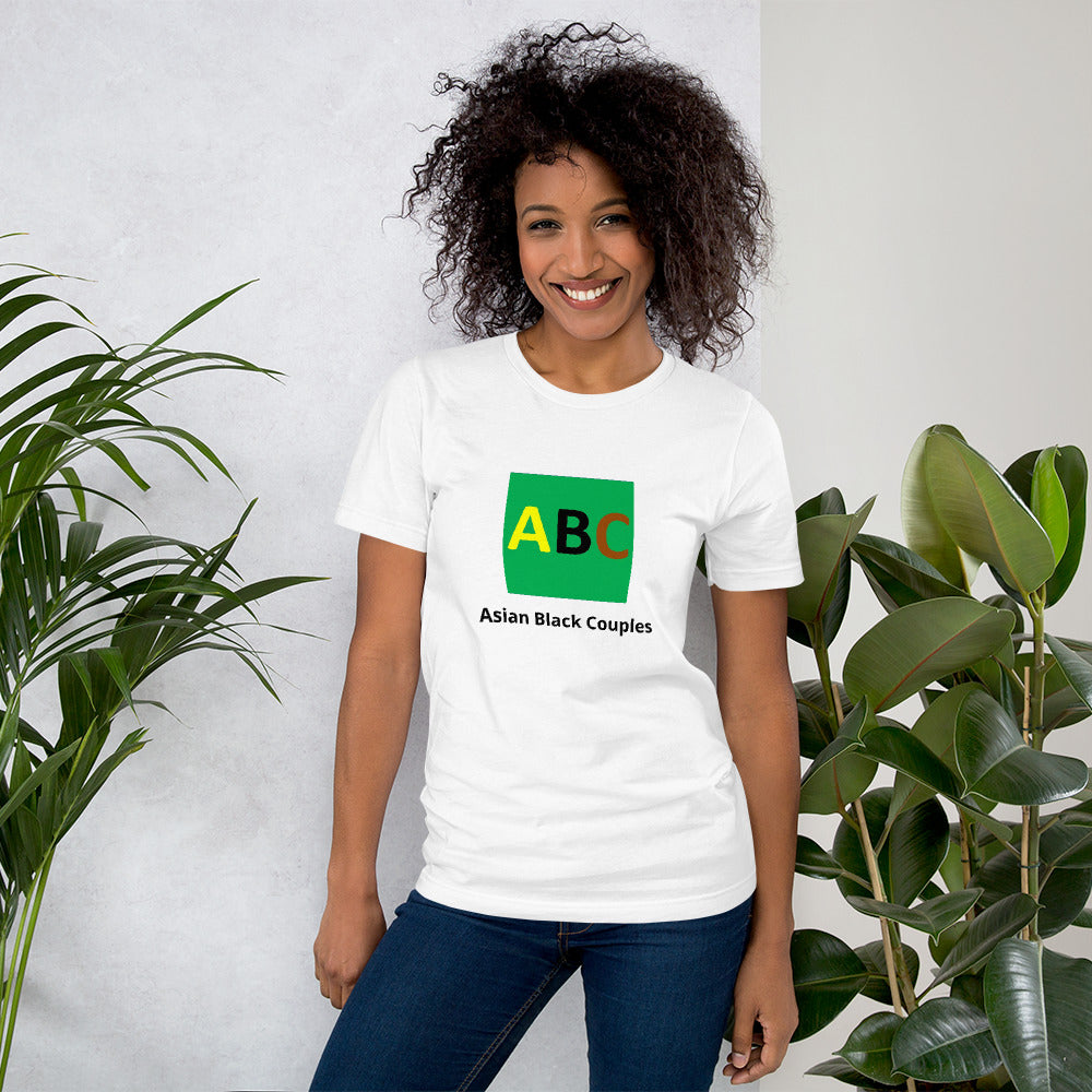 Short-Sleeve Unisex T-Shirt ABC Logo Several Colors
